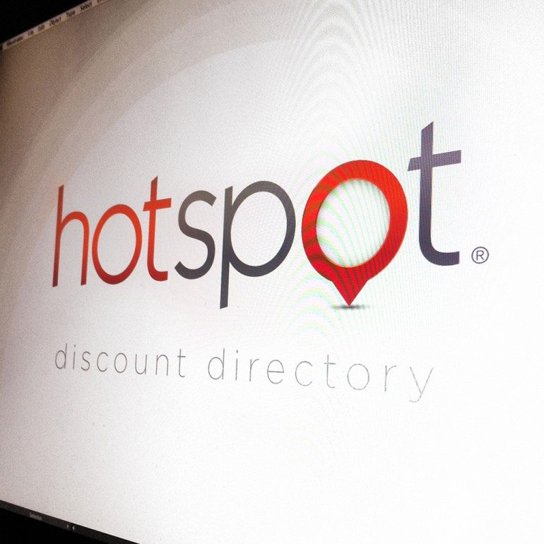 hotspot logo on screen