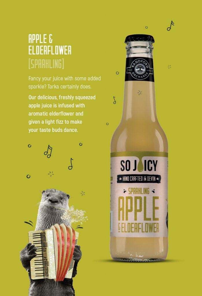 Apple & ElderFlower Packaging Design