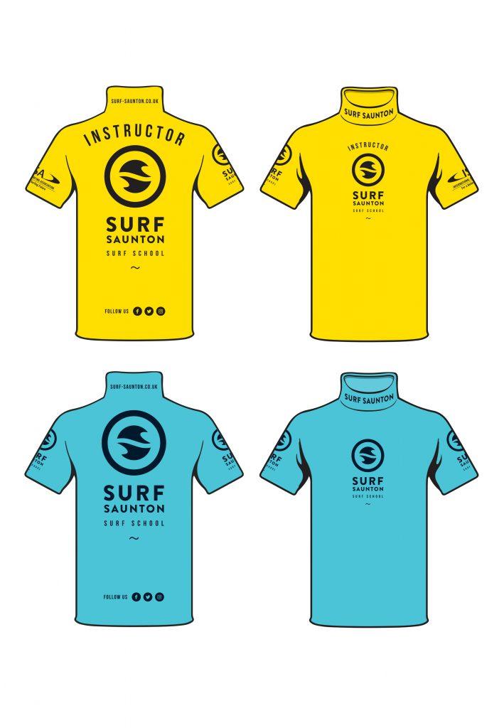 Surf Saunton Rashies